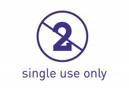Single use only